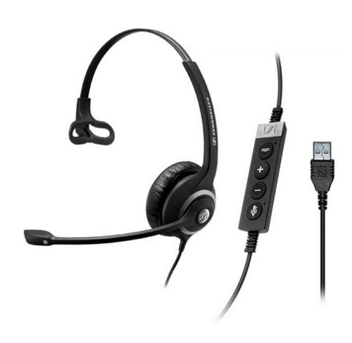Sennheiser SC 230 MS II Monaural Head-band Black,Silver