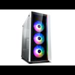 DeepCool MATREXX 55 V3 ADD-RGB WH 3F Midi Tower Black, White