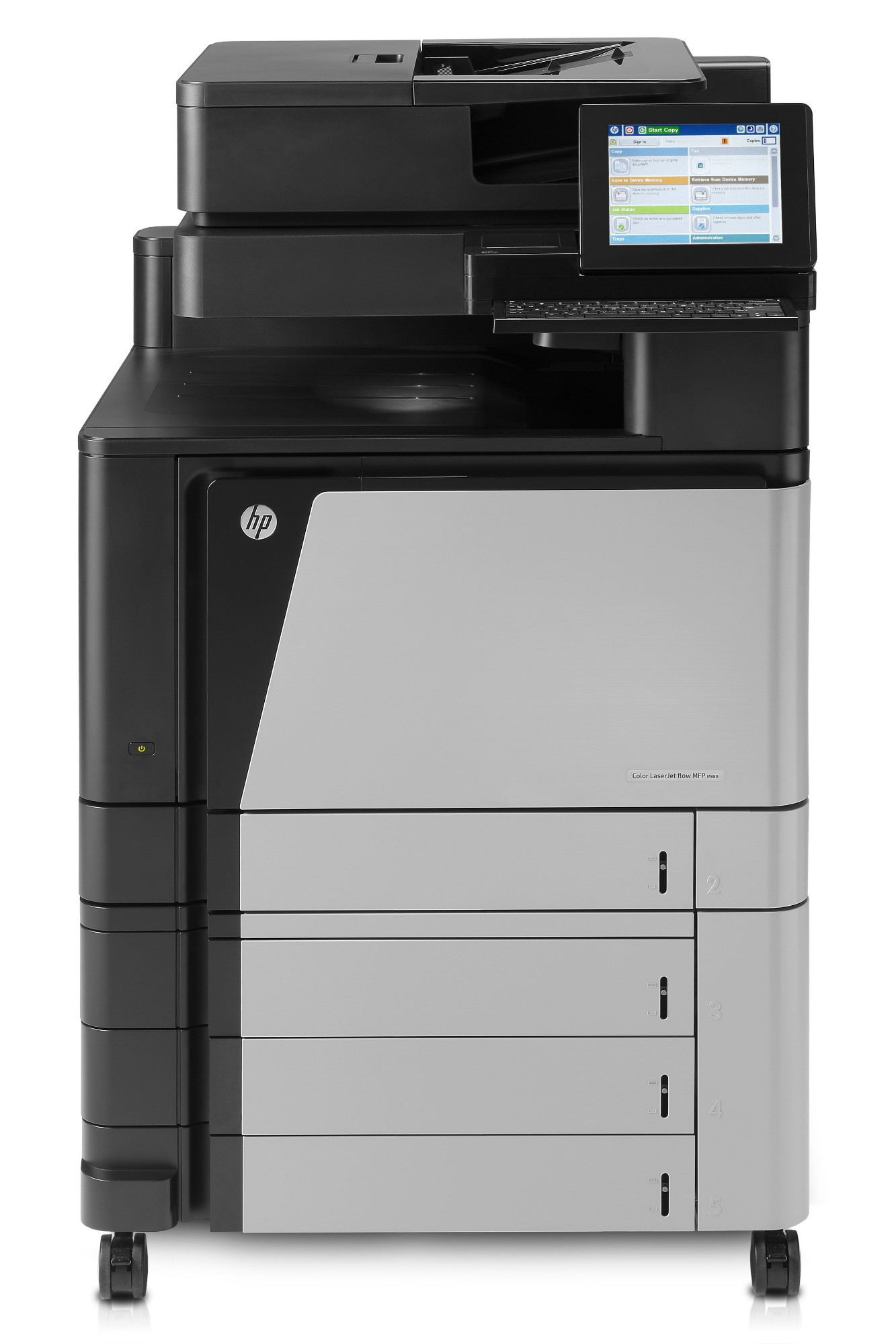 HP LaserJet Color Enterprise flow MFP M880z