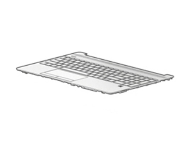HP L52023-051 notebook spare part Keyboard