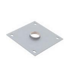 Chief Ceiling Plate Silver flat panel ceiling mount