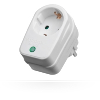 Microconnect GRUSP 230V White surge protector