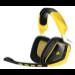 Corsair VOID Wireless Binaural Head-band Black,Yellow headset