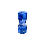 Conair M700E power plug adapter Universal Blue,Transparent
