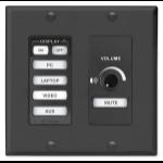 Extron MLC 64 RS VC D multiroom audio controller Black