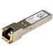 StarTech.com Gigabit RJ45 Copper SFP Transceiver Module - HP J8177C Compatible