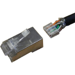 Cablenet 22-2098A wire connector RJ-45 Silver