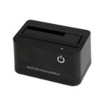 Gembird HD32-U2S-4 storage drive docking station USB 2.0 Type-A Black