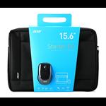 """Acer NOTEBOOK STARTER KIT 15.6"""" 15.6"""" Briefcase Black"""