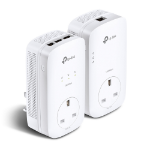 TP-LINK AV1300 3-Port Gigabit Passthrough Powerline Starter Kit
