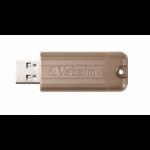 Verbatim PinStripe USB flash drive 64 GB USB Type-A 3.2 Gen 1 (3.1 Gen 1) Gold