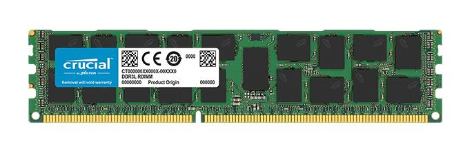 Memory 16GB DDR3l 1600MHz (pc3-12800) Dr X4 RDIMM 240p