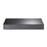 TP-LINK JetStream 8-Port Gigabit Smart PoE+ Switch with 2 SFP Slots