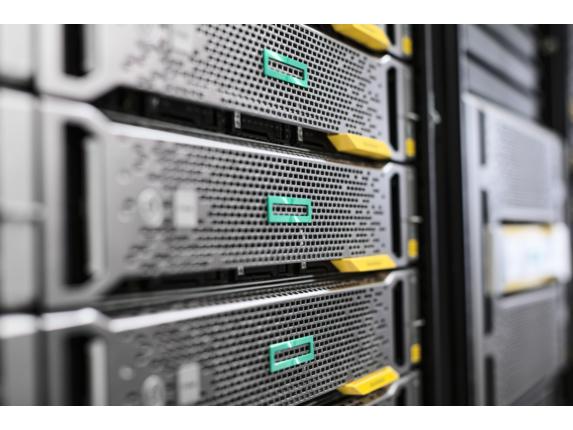 Hewlett Packard Enterprise 867966-B21 parte carcasa de ordenador Estante Panel trasero