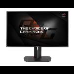 "ASUS PG278QR 27"" Quad HD LED Flat Black computer monitor"