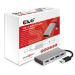 CLUB3D USB 3.0 Hub 4-Port with Power Adapter