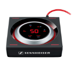 Sennheiser GSX 1000 7.1channels Home Wired Black,Silver audio amplifier