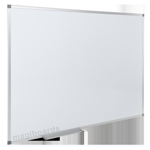 Magiboards Slim Aluminium Frame Magnetic Whitebrd 900x600