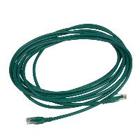 APC DC6PCURJ05GNM netwerkkabel 5 m Cat6 U/UTP (UTP) Groen