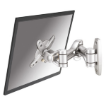 "Newstar TV/Monitor Wall Mount (Full Motion) for 10""-30"" Screen - Silver"