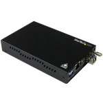 StarTech.com Gigabit Ethernet Copper-to-Fiber Media Converter - SM LC - 10 km