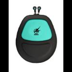 Port Designs 901701 Headset Buidelzak EVA (Ethyleen-vinyl-acetaat), Neopreen, Fluweel Groen tasje voor mobiele apparatuur