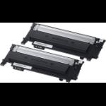 HP SU364A (CLT-P404B) Toner black, 1.5K pages, Pack qty 2