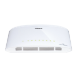D-Link DGS-1005D/E 5-Port Gigabit Unmanaged Desktop Switch - White