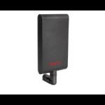 Draytek ANT-2520 802.11ac/a/b/g/n - Indoor Patch Antenna with 10 dBi @ 5 GHz / 7.5 dBi @ 2.4 GHz (Black)