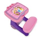 DISNEY Princess Activity Desk with Colouring Set with 30pcs Creative Kit, Pink (CDIP001)
