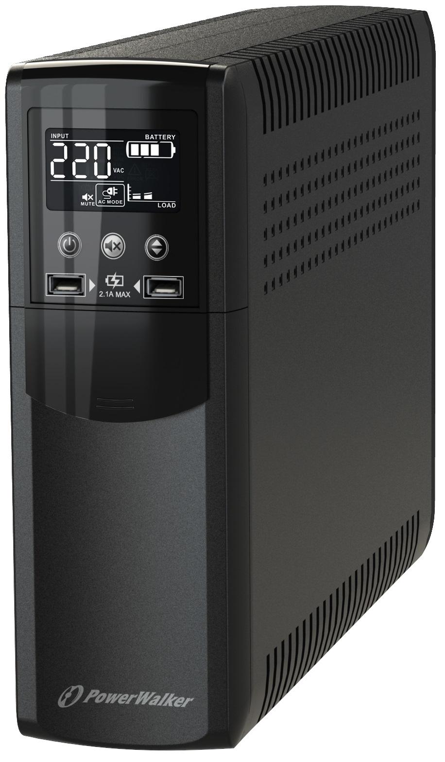 PowerWalker VI 1000 CSW Line-Interactive 1 kVA 600 W 8 AC outlet(s)