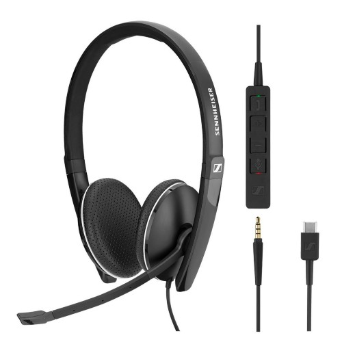 Sennheiser SC 165 USB-C Binaural Head-band Black