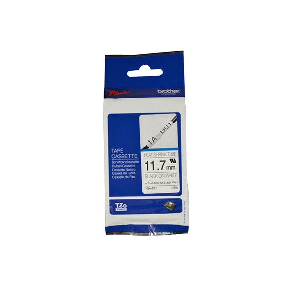 Brother HSE-231 Heat Shrink Tubes, 11,7mm x 1,5m