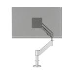 R-Go Tools Caparo 3 Pro Monitor Arm, gas spring, 0-18 kg, silver