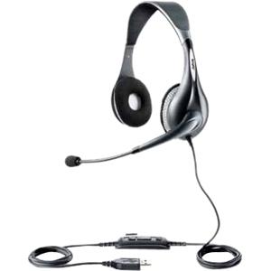 Jabra UC VOICE 150 duo Binaural Head-band Grey headset