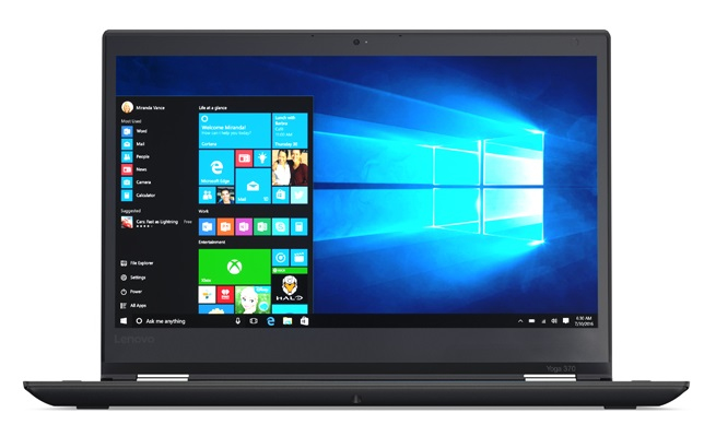 "Lenovo ThinkPad Yoga Yoga 370 2.50GHz i5-7200U 13.3"" 1920 x 1080pixels Touchscreen Black Hybrid (2-in-1)"