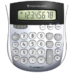 Texas Instruments TI-1795 SV Mini Desktop Calculator