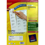 Avery QuickPEEL White FSC
