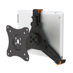 Newstar Universal Tablet mount (VESA 75x75mm to 100x100mm) - Black