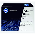 HP LaserJet CC364A Black Print Cartridge with Smart Printing Technology - CC364A