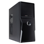 CIT 1019 Black/Silver Midi Case 500W PSU