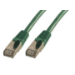 MCL RJ45 CAT 6 A F/UTP LSZH 3m cable de red Verde