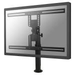 """Newstar Tilt/Turn/Rotate Desk Mount (grommet) for 32-60"""" Monitor Screen, Height Adjustable - Black"""