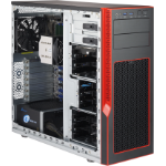 Supermicro CSE-GS5A-753R Black,Red computer case