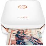 "HP Sprocket photo printer ZINK (Zero ink) 313 x 400 DPI 2"" x 3"" (5x7.6 cm) white"