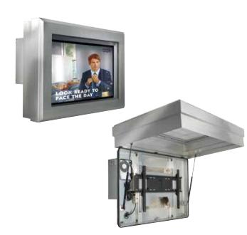 Peerless FPE55FH-UK-S signage display mount 139.7 cm (55