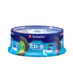 "Verbatim Digital Vinyl CD-Râ""¢ 80MIN 700MB 25pk Spindle CD-R 700MB 25pcs"