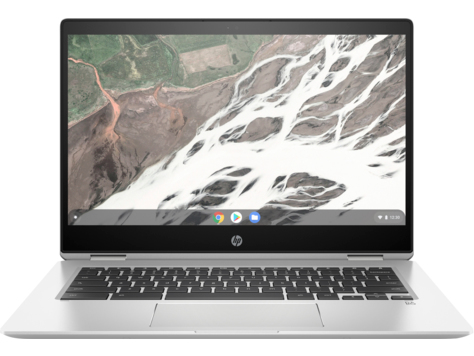 "HP Chromebook x360 14 G1 Zilver 35,6 cm (14"") 1920 x 1080 Pixels Touchscreen Intel® 8ste generatie Core™ i7 i7-8650U 16 GB DDR4-SDRAM 64 GB eMMC"