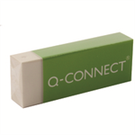 Q-CONNECT KF00236 Plastic,Rubber White 20pc(s) eraser
