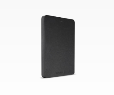 Toshiba Canvio Alu 1 TB external hard drive 1000 GB Black